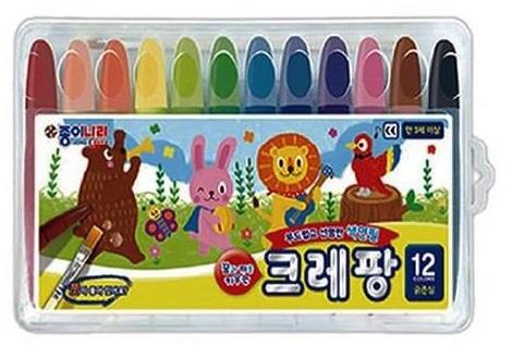 New Crapang Silky Crayons for Preschool and Grade School