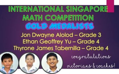 ISMC – International Singapore Maths Competition 2018