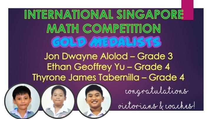 ISMC – International Singapore Maths Competition 2018